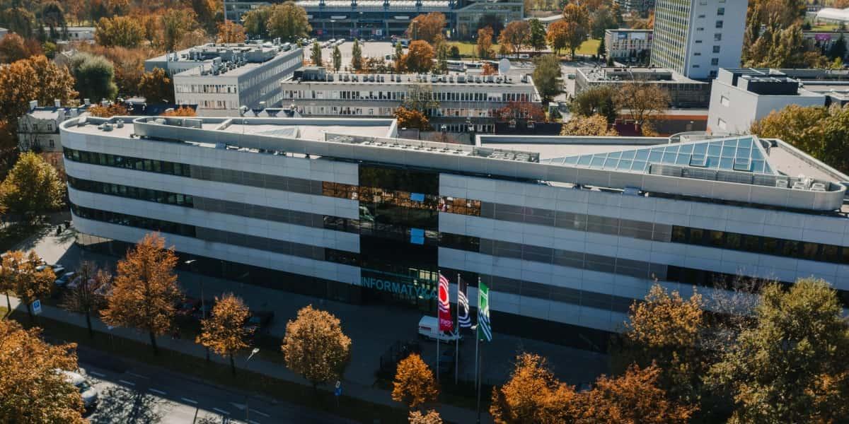 Budynek informatyka D17